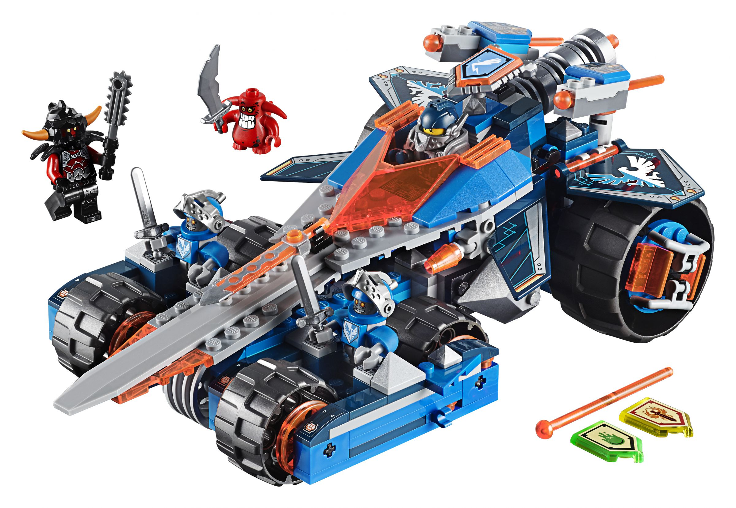 LEGO Nexo Knights 70315 Clays Klingen-Cruiser