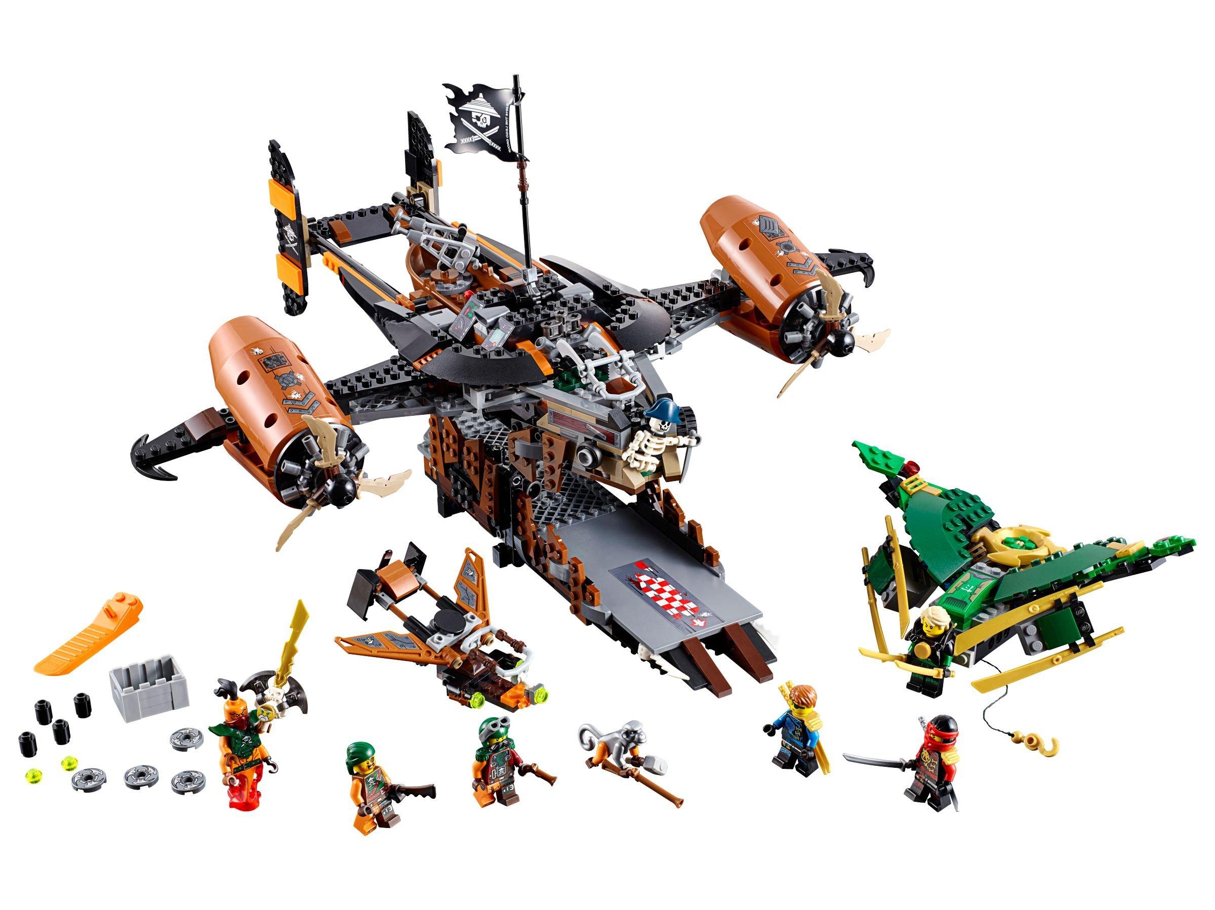 Lego 70605 luftschiff des ungl cks ninjago 2016 - Lego ninjago d or ...