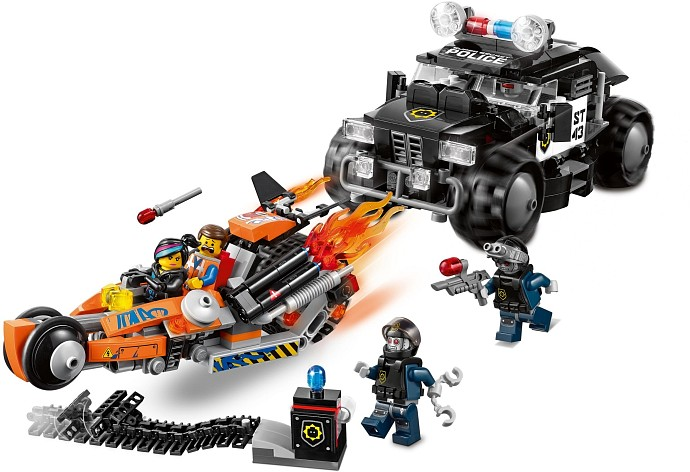 LEGO The LEGO Movie 70808 Superbike Verfolgungsrennen