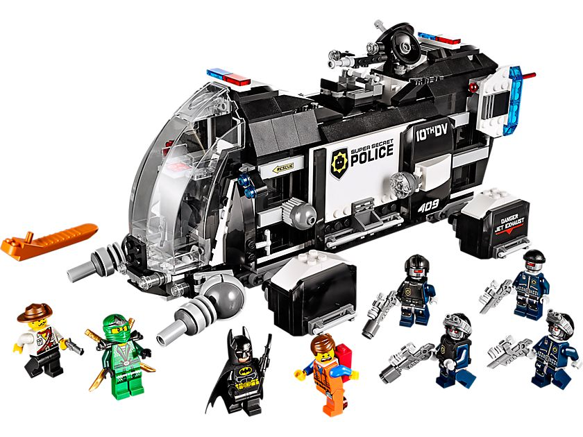 LEGO The LEGO Movie 70815 Raumschiff der Super-Geheimpolizei