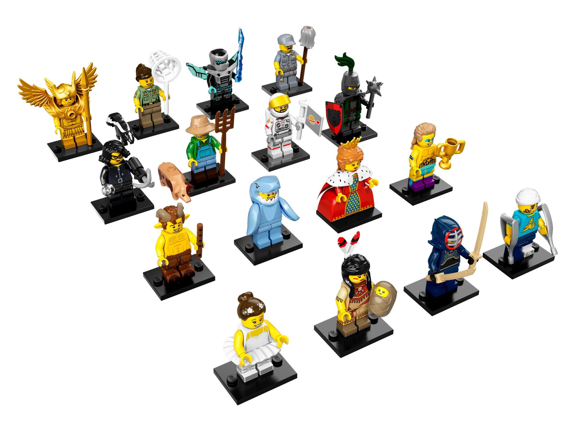 LEGO Collectable Minifigures 71011 LEGO® Minifiguren Serie 15 71011-alt1.jpg
