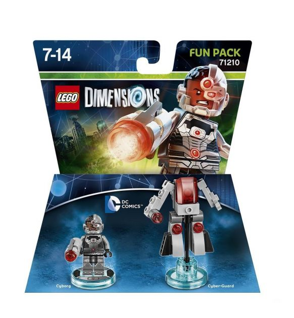 LEGO Dimensions 71210 Fun Pack Cyborg