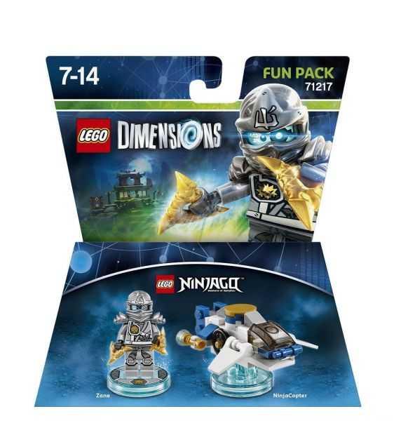 LEGO Dimensions 71217 Fun Pack Zane
