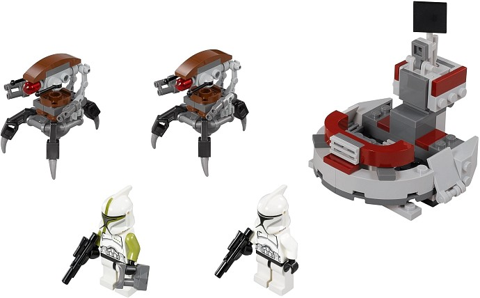 LEGO Star Wars 75000 Clone Troopers™ vs. Droïdekas™