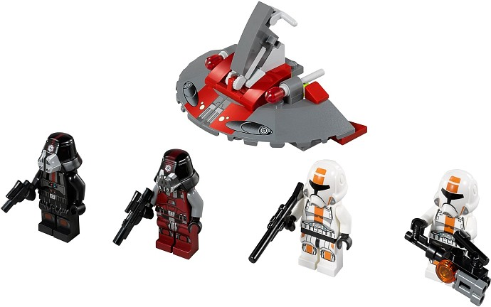 LEGO Star Wars 75001 Republic Troopers™ vs Sith™ Troopers