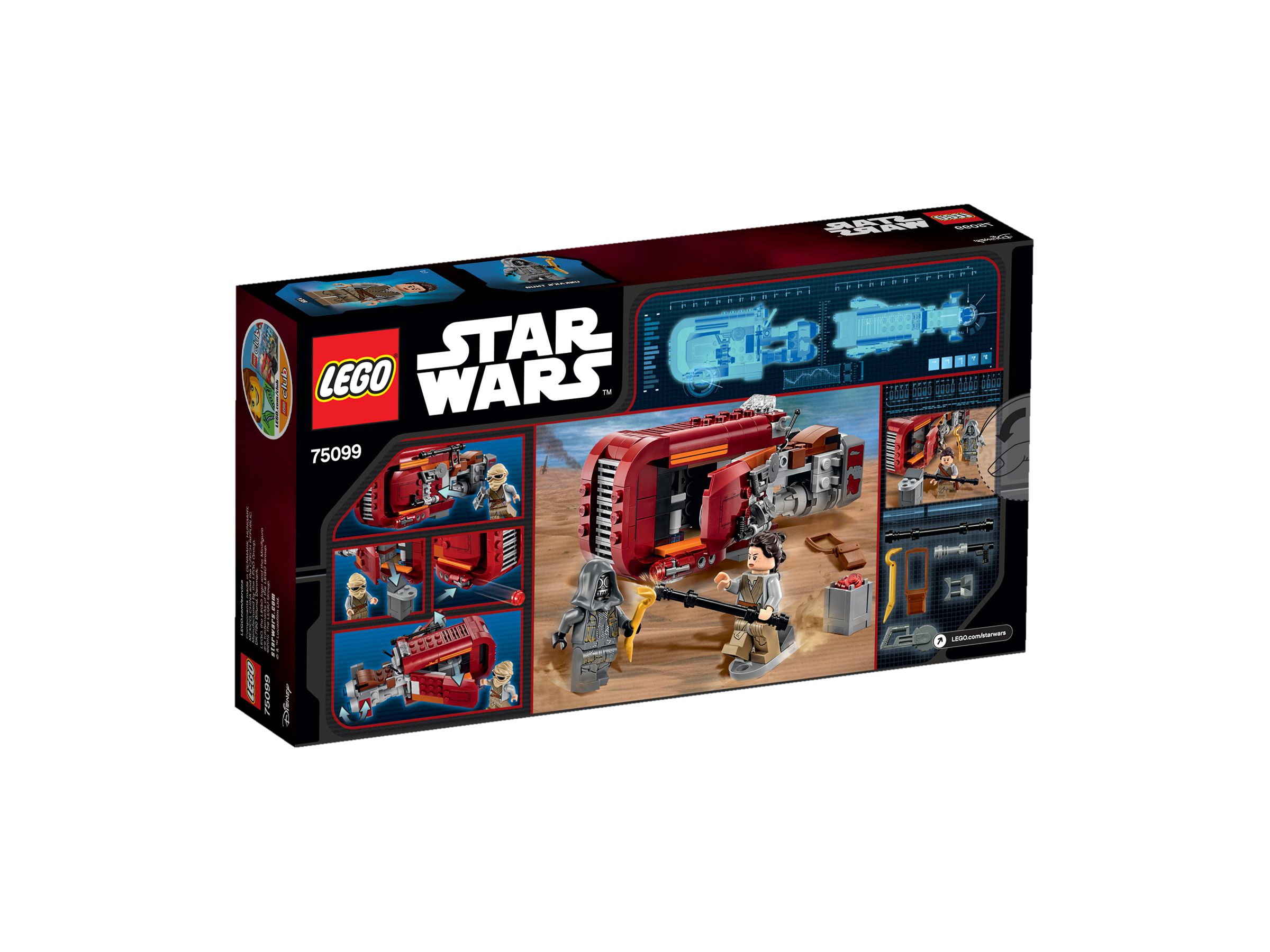 lego 75099 rey 39 s speeder star wars 2015 rey 39 s speeder brickmerge. Black Bedroom Furniture Sets. Home Design Ideas