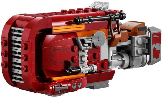LEGO Star Wars 75099 Rey's Speeder™ 75099_detail_01.jpg