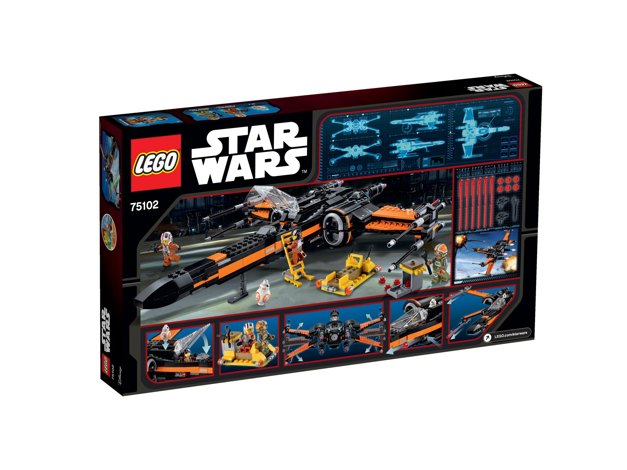 LEGO Star Wars 75102 Poe's X-Wing Fighter™ 75102_box_back.jpg