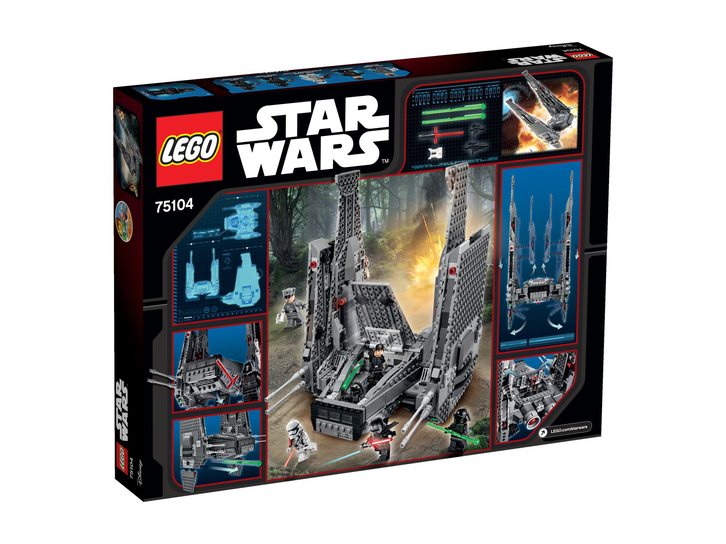 LEGO Star Wars 75104 Kylo Ren's Command Shuttle™ 75104_box_back.jpg