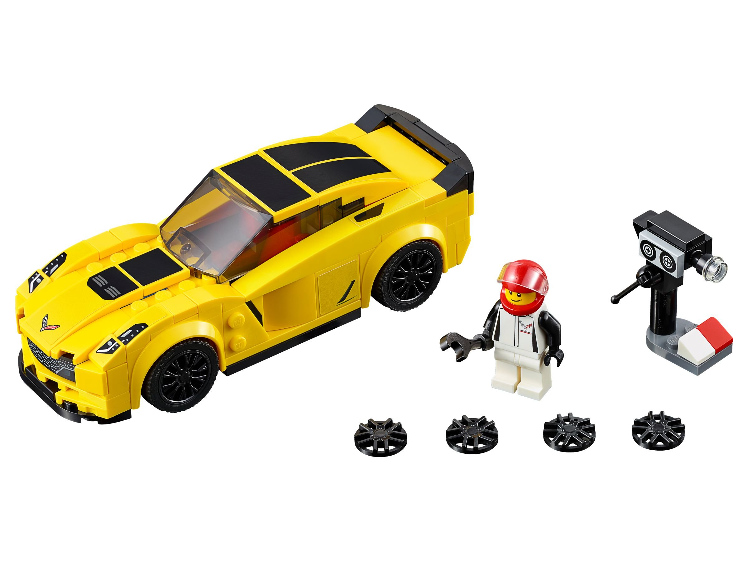lego 75870 chevrolet corvette z06 speed champions 2016 brickmerge. Black Bedroom Furniture Sets. Home Design Ideas