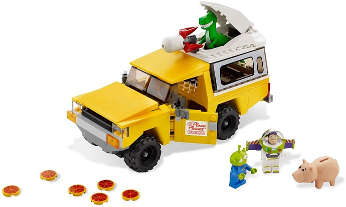 LEGO Toy Story 7598 Pizza Planet Lastwagen