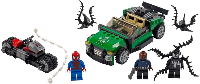 LEGO Super Heroes 76004 Spider-Man™: Jagd im Spider-Cycle