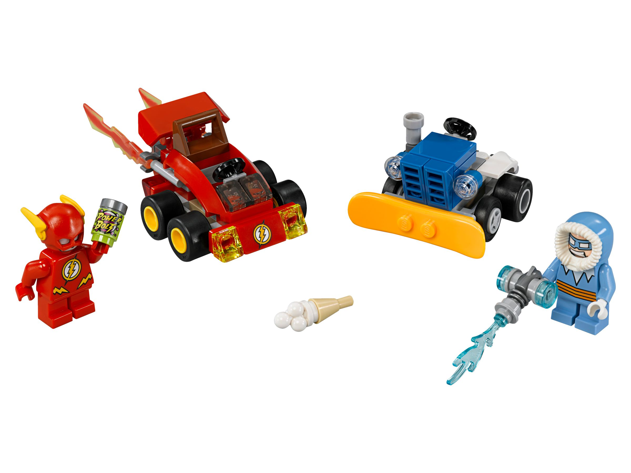 LEGO Super Heroes 76063 Mighty Micros: The Flash™ vs. Captain Cold™