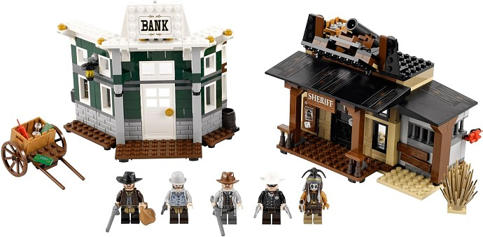 LEGO Lone Ranger 79109 Duell in Colby City