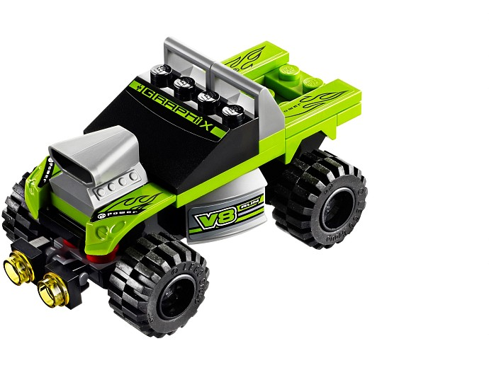 LEGO Racers 8192 Lime Racer