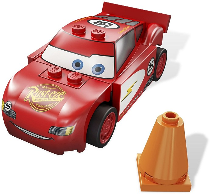 LEGO Cars 8200 Radiator Springs Lightning McQueen