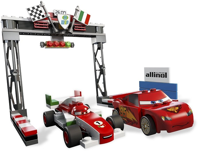 LEGO Cars 8423 World Grand Prix Racing Rivalry