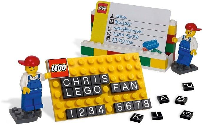Lego 850425 Lego Visitenkartenhalter 2012 Desk Business Card Holder