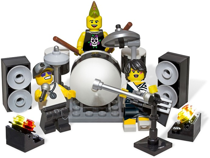 LEGO Collectable Minifigures 850486 Rock Band Minifigure Accessory Set