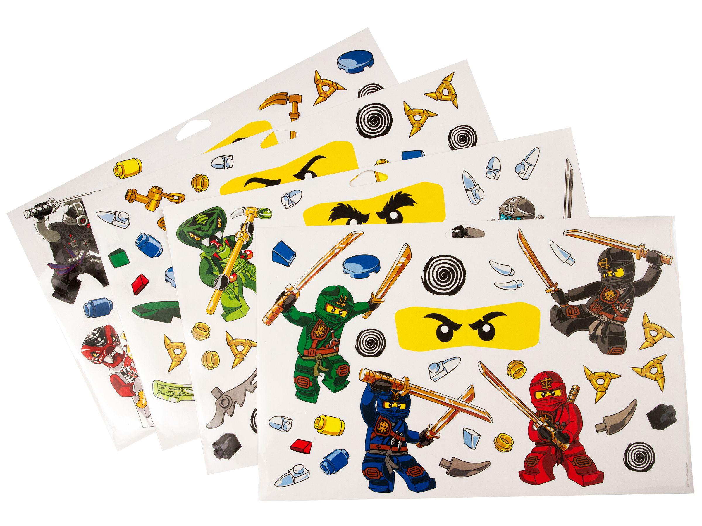 Lego Ninjago Wall Stickers Wand Sticker 851348 2015 Im Preisvergleich Ninjago