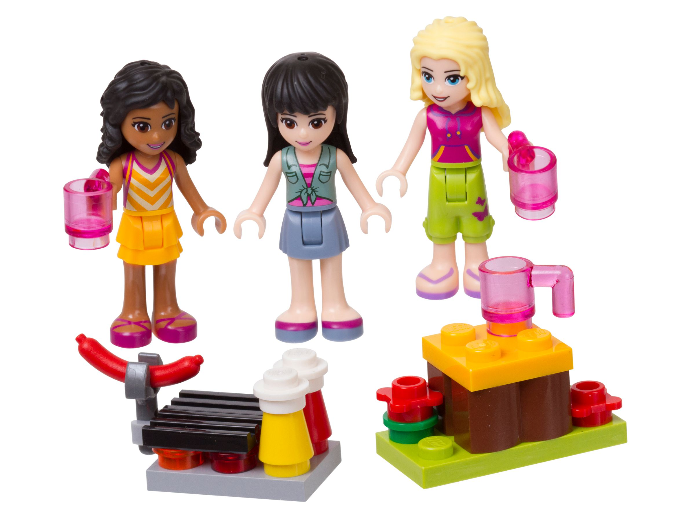 LEGO Friends 853556 Spielfiguren-Zeltlager-Set