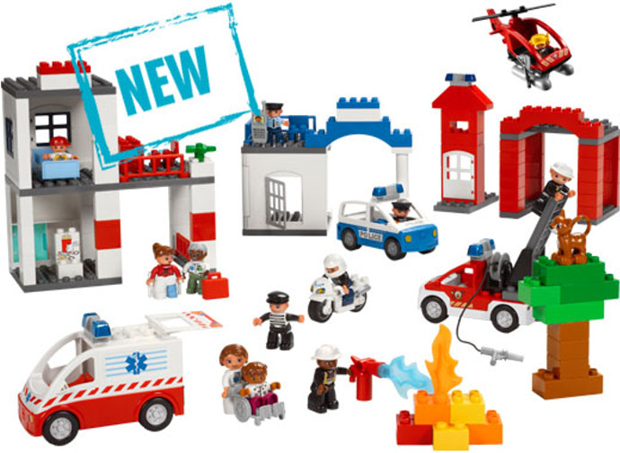 LEGO Education 9209 Community Services Set