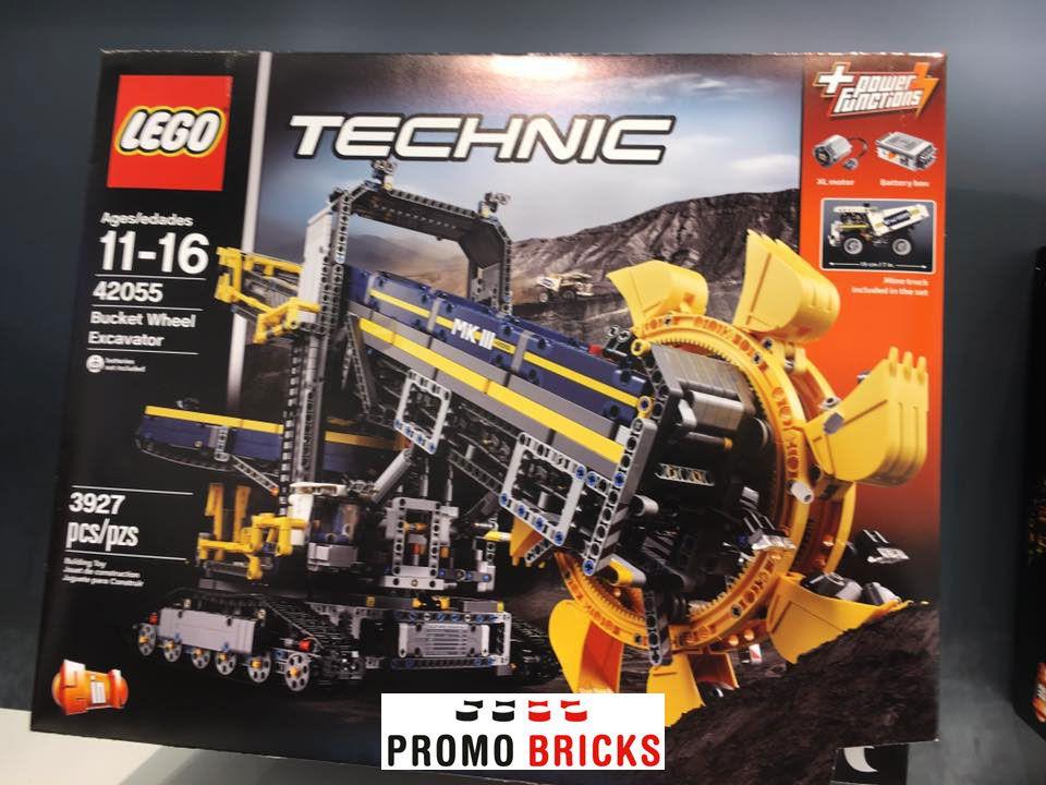 28 Ab 165 97 Schaufelradbagger 42055 Lego Technic
