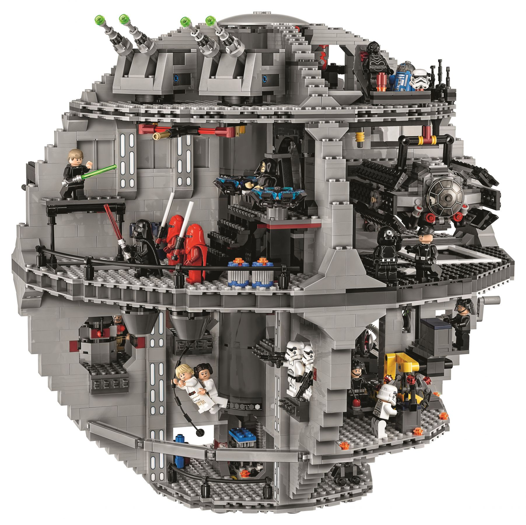 LEGO Star Wars 75159 Der Todesstern™ LEGO-75159-UCS-Death-Star-Back.jpg