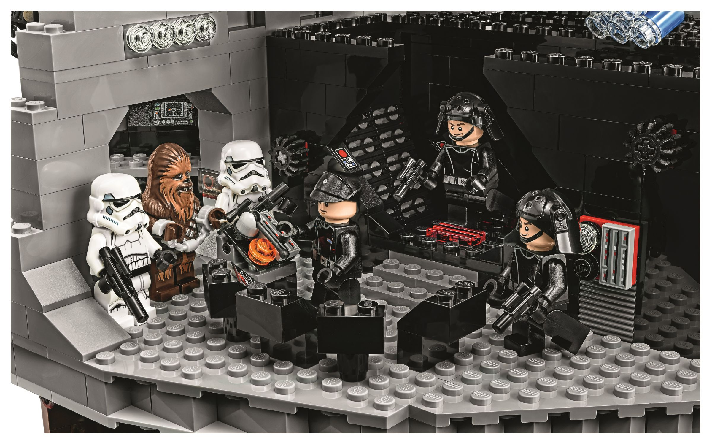 LEGO Star Wars 75159 Der Todesstern™ LEGO-75159-UCS-Death-Star-Chewie-in-Chains.jpg