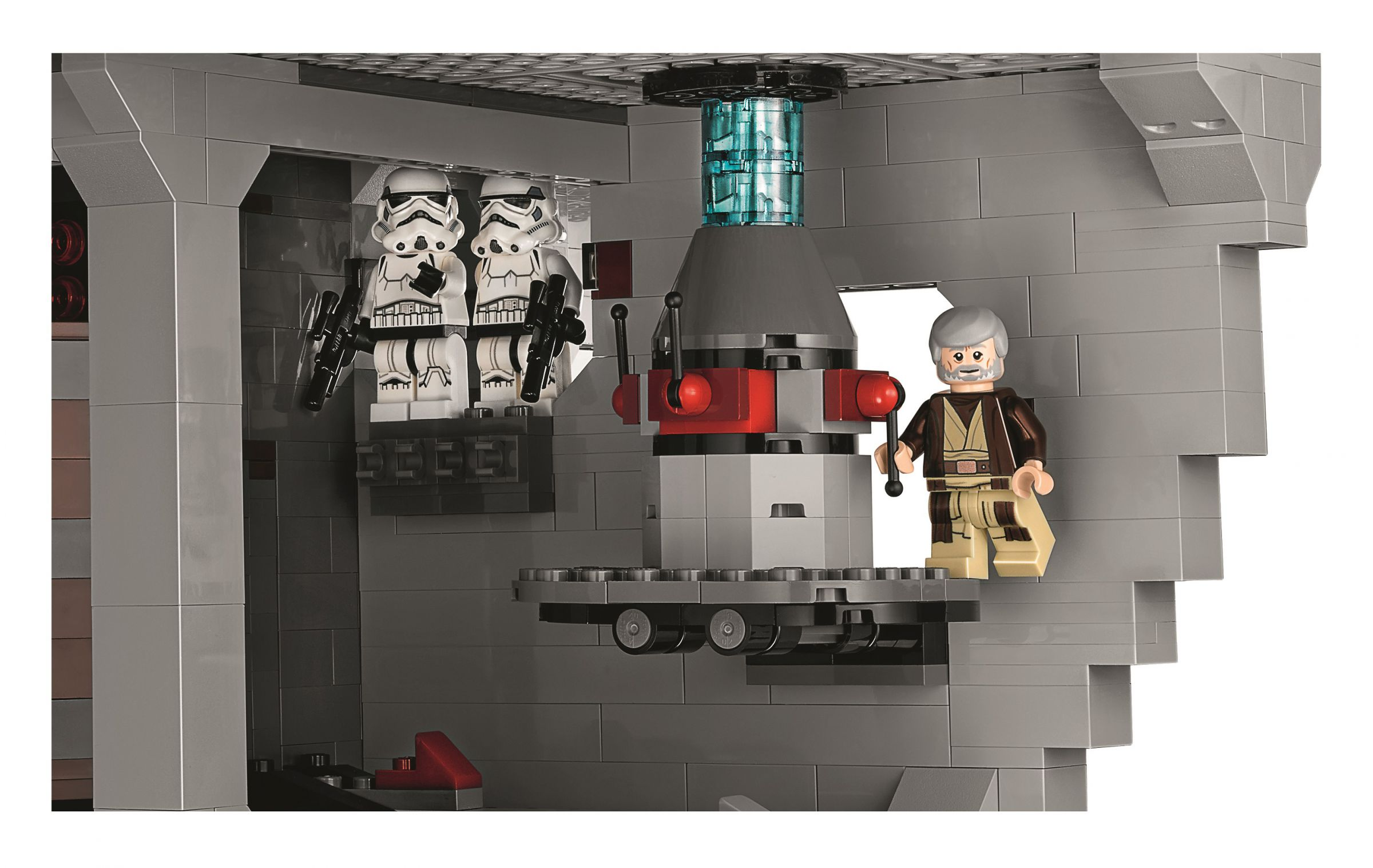 LEGO Star Wars 75159 Der Todesstern™ LEGO-75159-UCS-Death-Star-Obi-Wan-Being-Shady.jpg