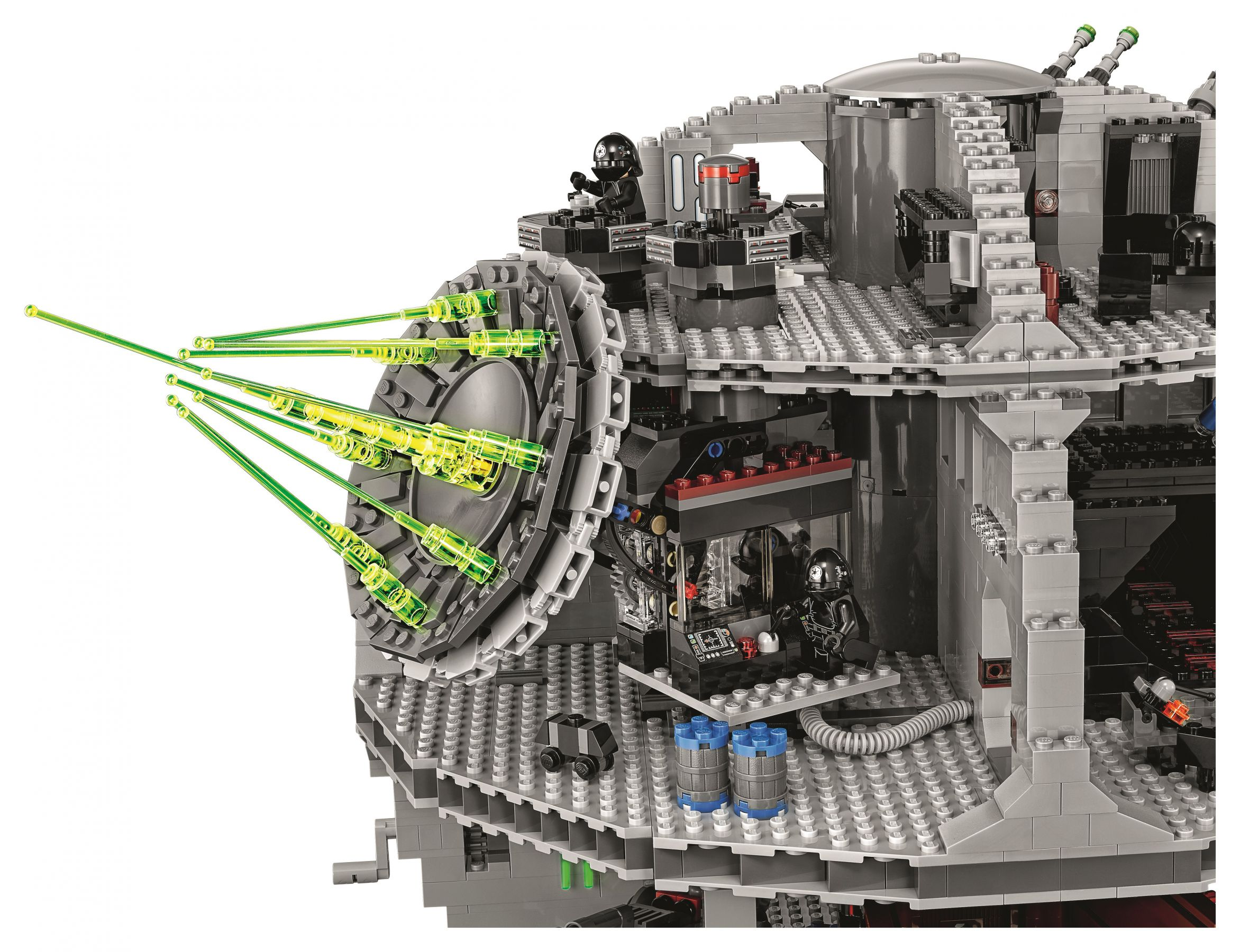 LEGO Star Wars 75159 Der Todesstern™ LEGO-75159-UCS-Death-Star-Superlaser.jpg