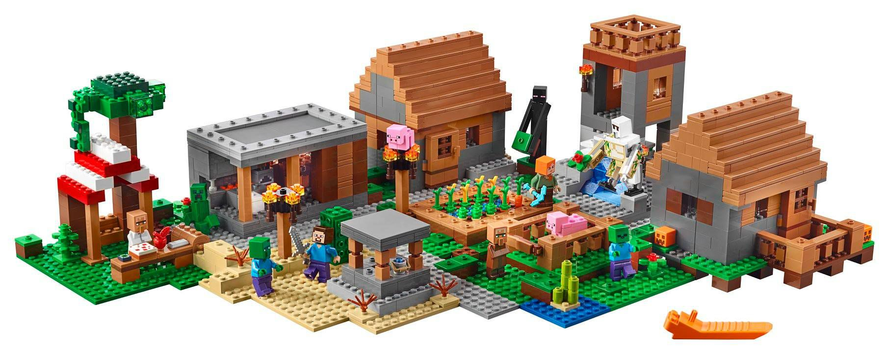 LEGO Minecraft 21128 Das Dorf LEGO-Minecraft-21128-The-Village_img01.jpg