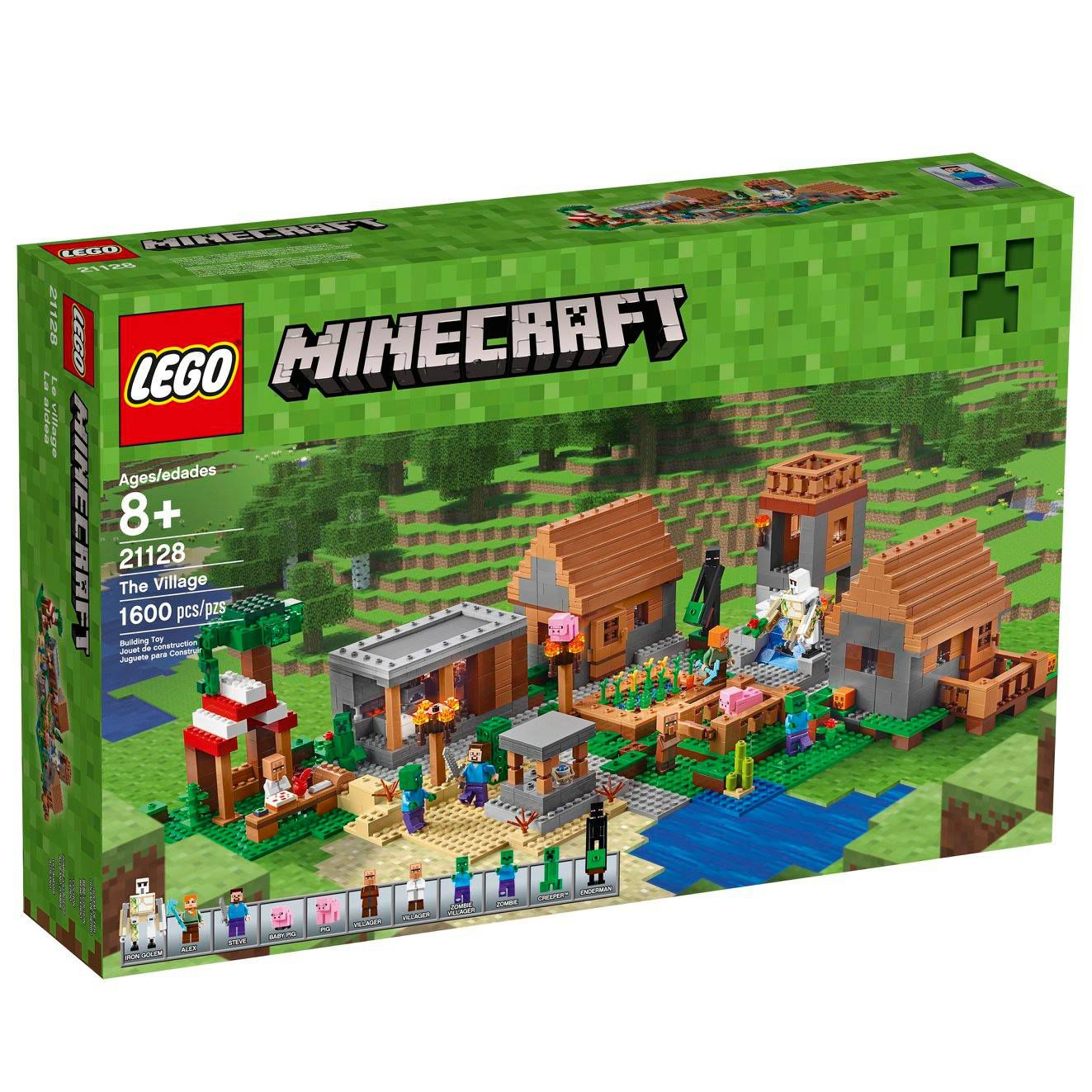 LEGO Minecraft 21128 Das Dorf LEGO-Minecraft-21128-The-Village_img02.jpg