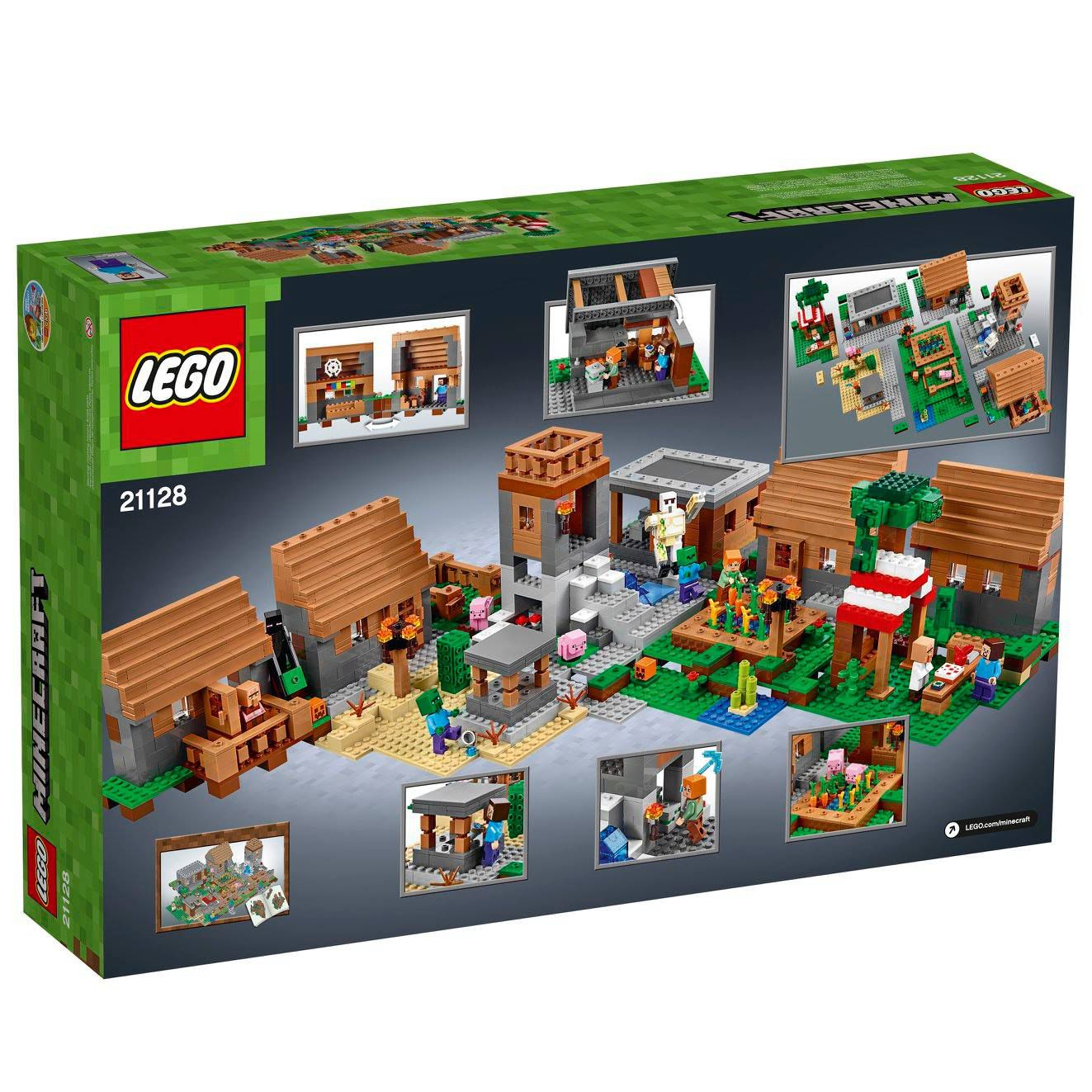 LEGO Minecraft 21128 Das Dorf LEGO-Minecraft-21128-The-Village_img03.jpg
