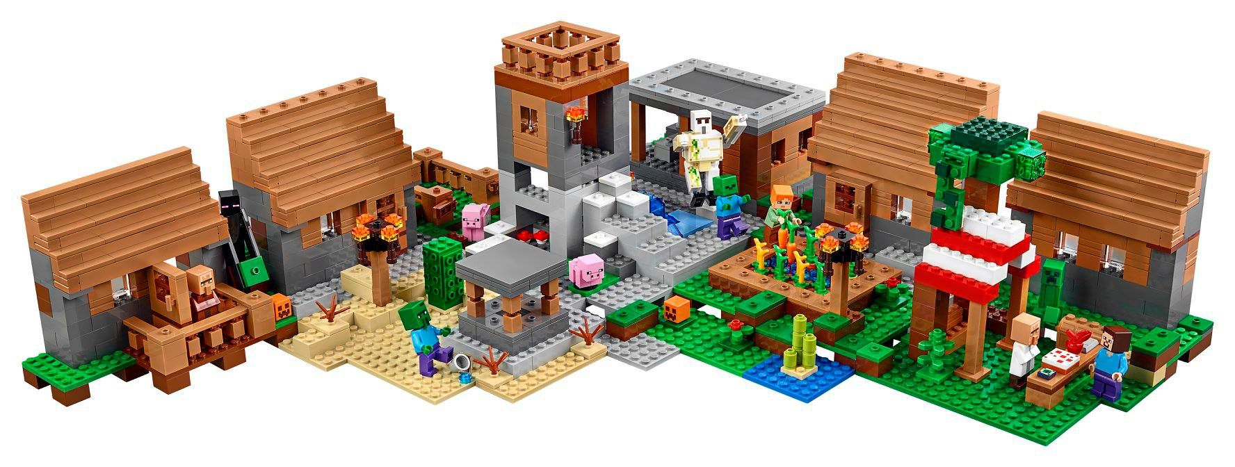 LEGO Minecraft 21128 Das Dorf LEGO-Minecraft-21128-The-Village_img09.jpg