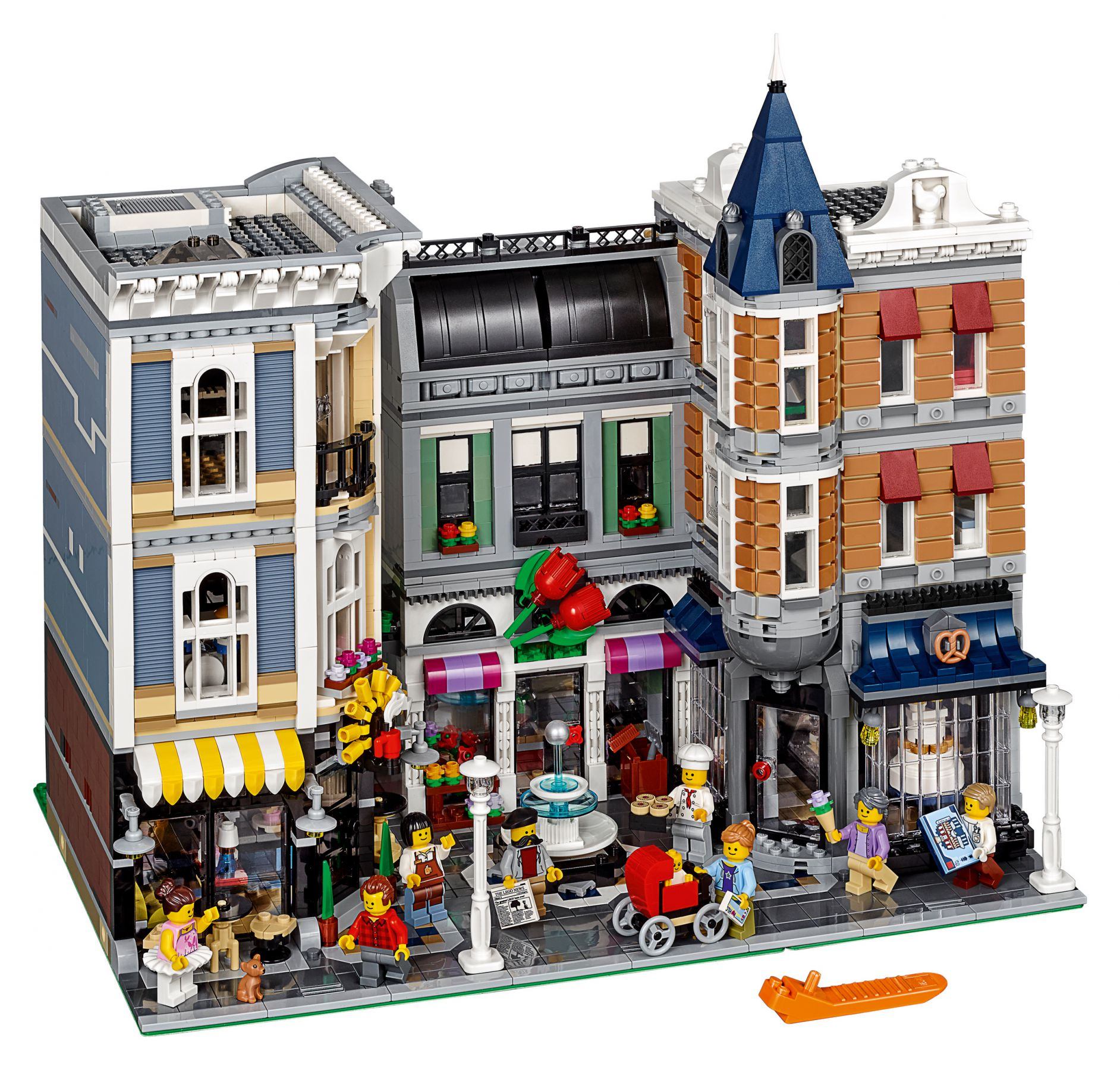 LEGO Advanced Models 10255 Assembly Square / Stadtleben