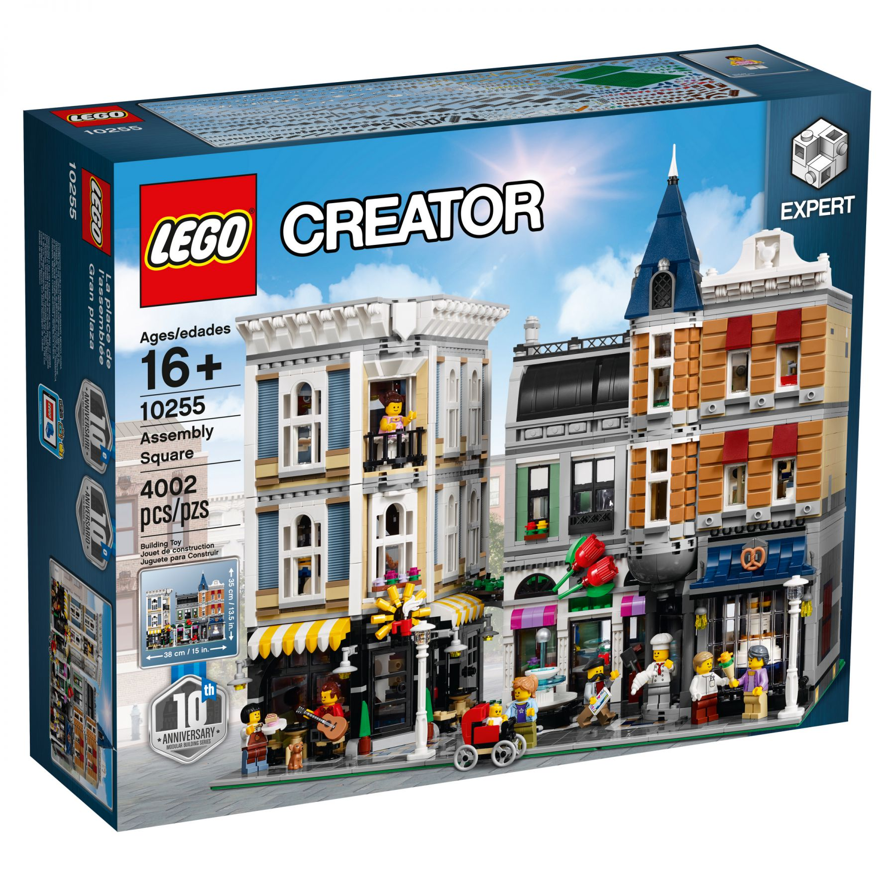 LEGO Advanced Models 10255 Assembly Square / Stadtleben LEGO_10255_alt1.jpg