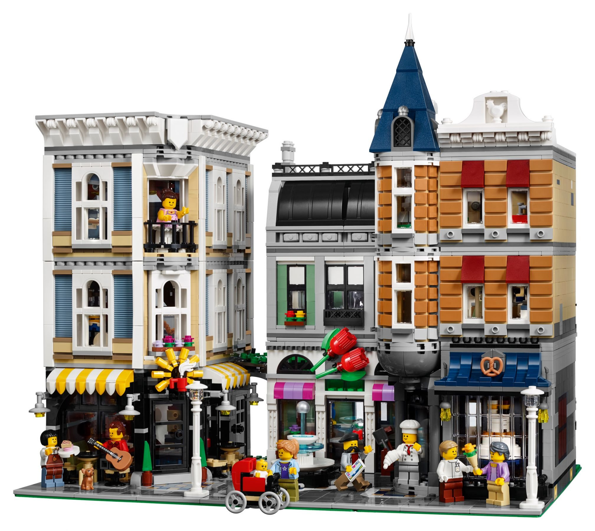LEGO Advanced Models 10255 Assembly Square / Stadtleben LEGO_10255_alt2.jpg