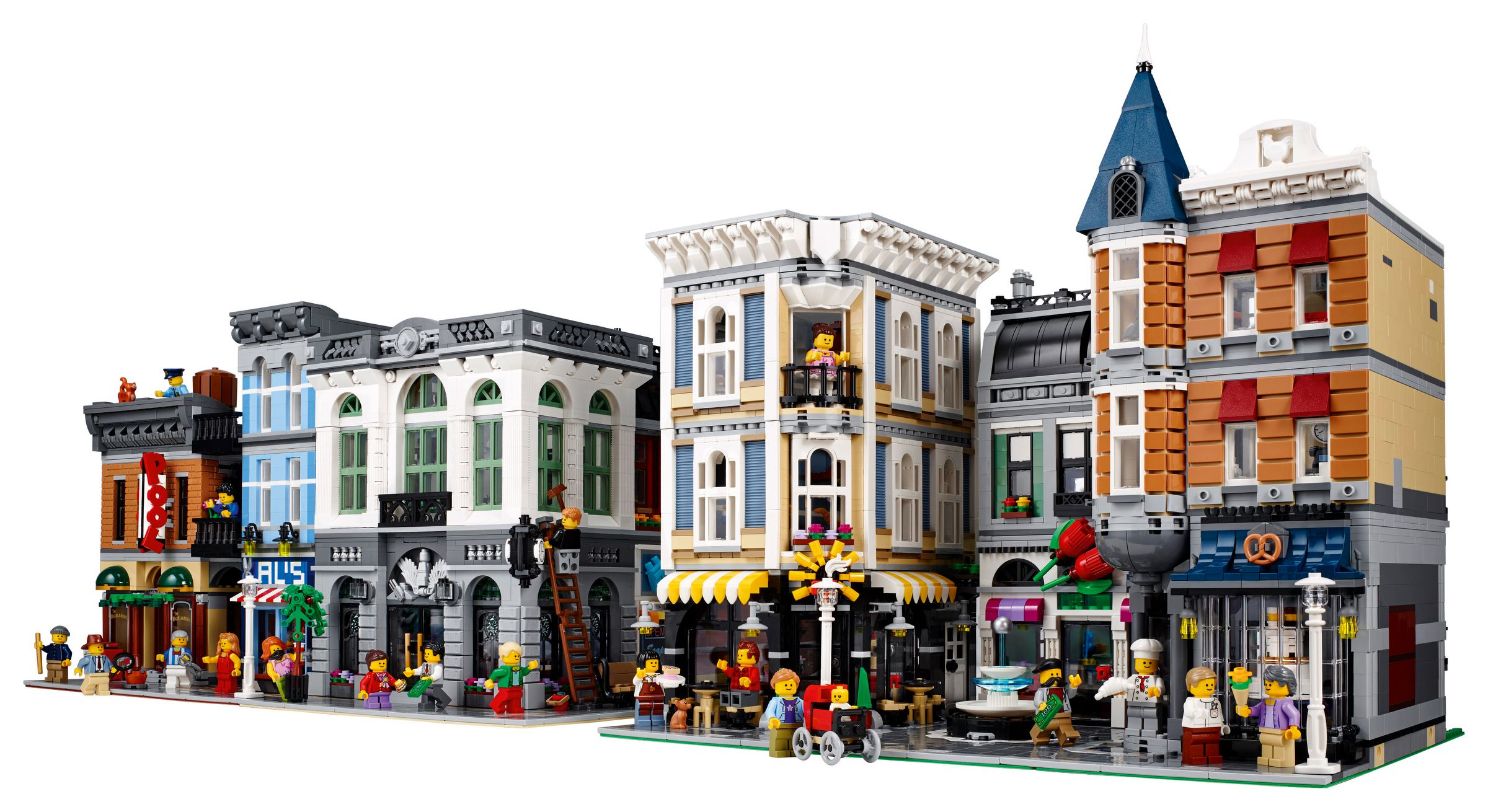 LEGO Advanced Models 10255 Assembly Square / Stadtleben LEGO_10255_alt4.jpg