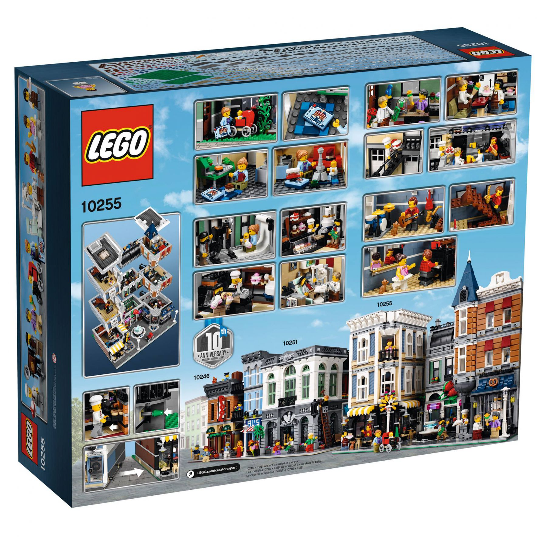 LEGO Advanced Models 10255 Assembly Square / Stadtleben LEGO_10255_box-back.jpg