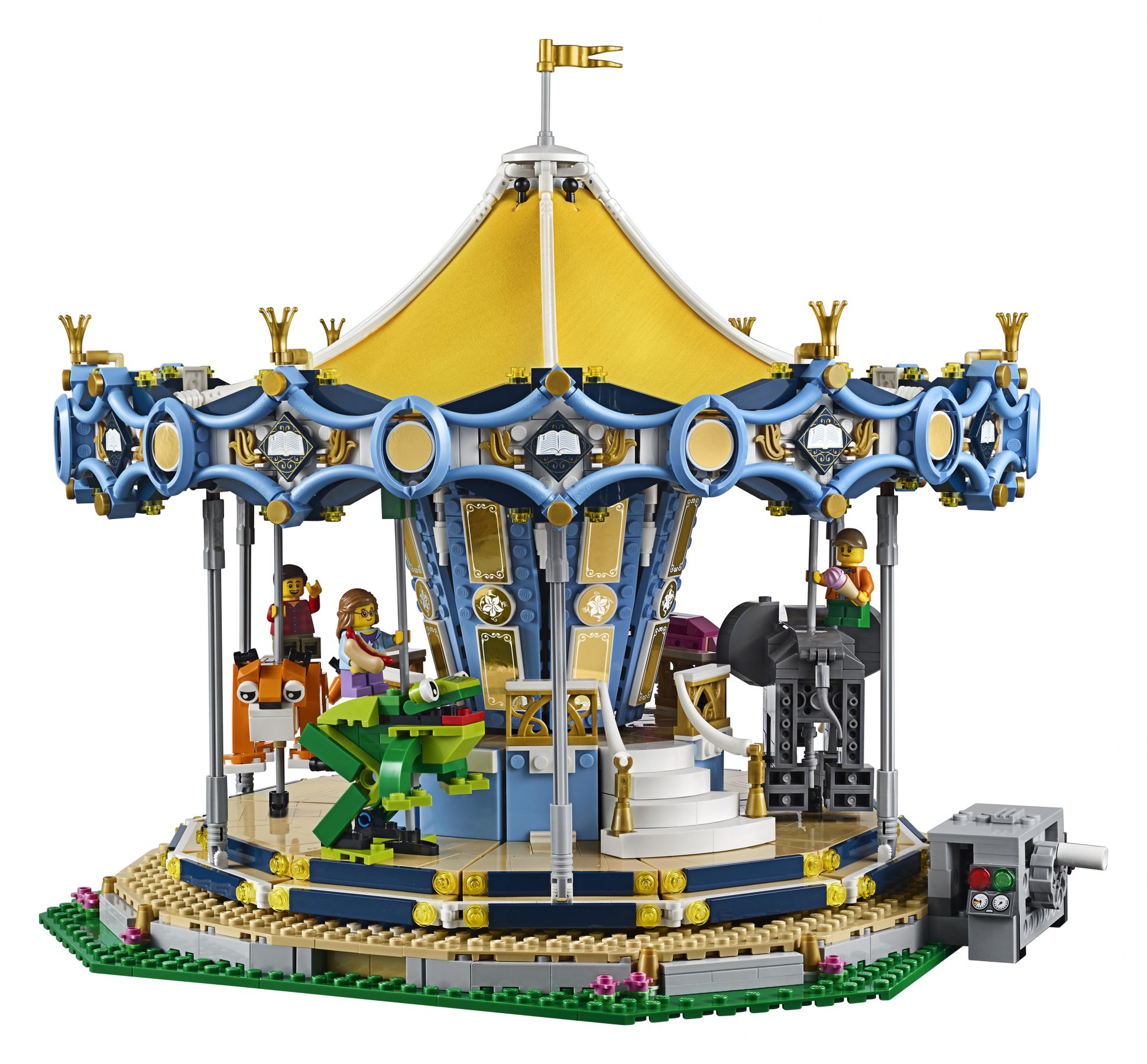 LEGO Advanced Models 10257 Karussell LEGO_10257_Fairground_Carousel_Back_01.jpg