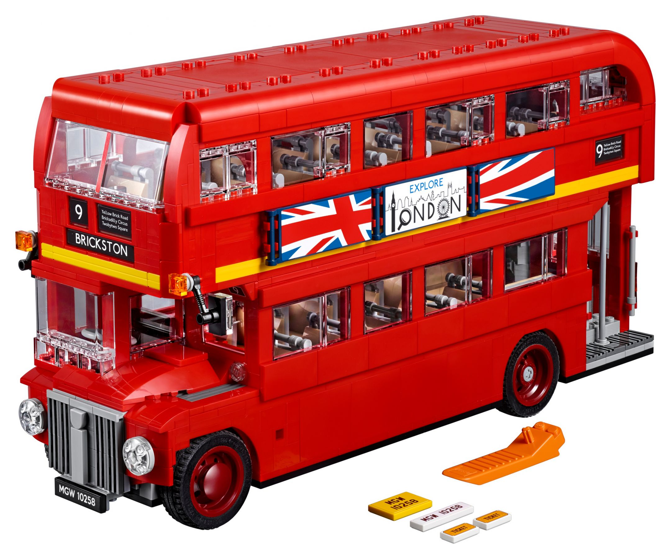 LEGO Advanced Models 10258 Doppeldecker Bus