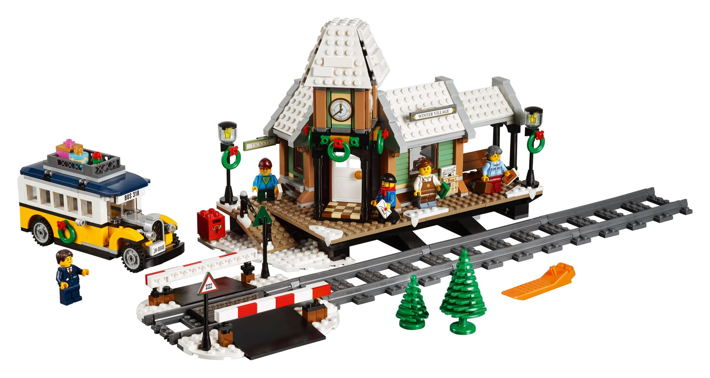 LEGO Advanced Models 10259 Winterlicher Bahnhof