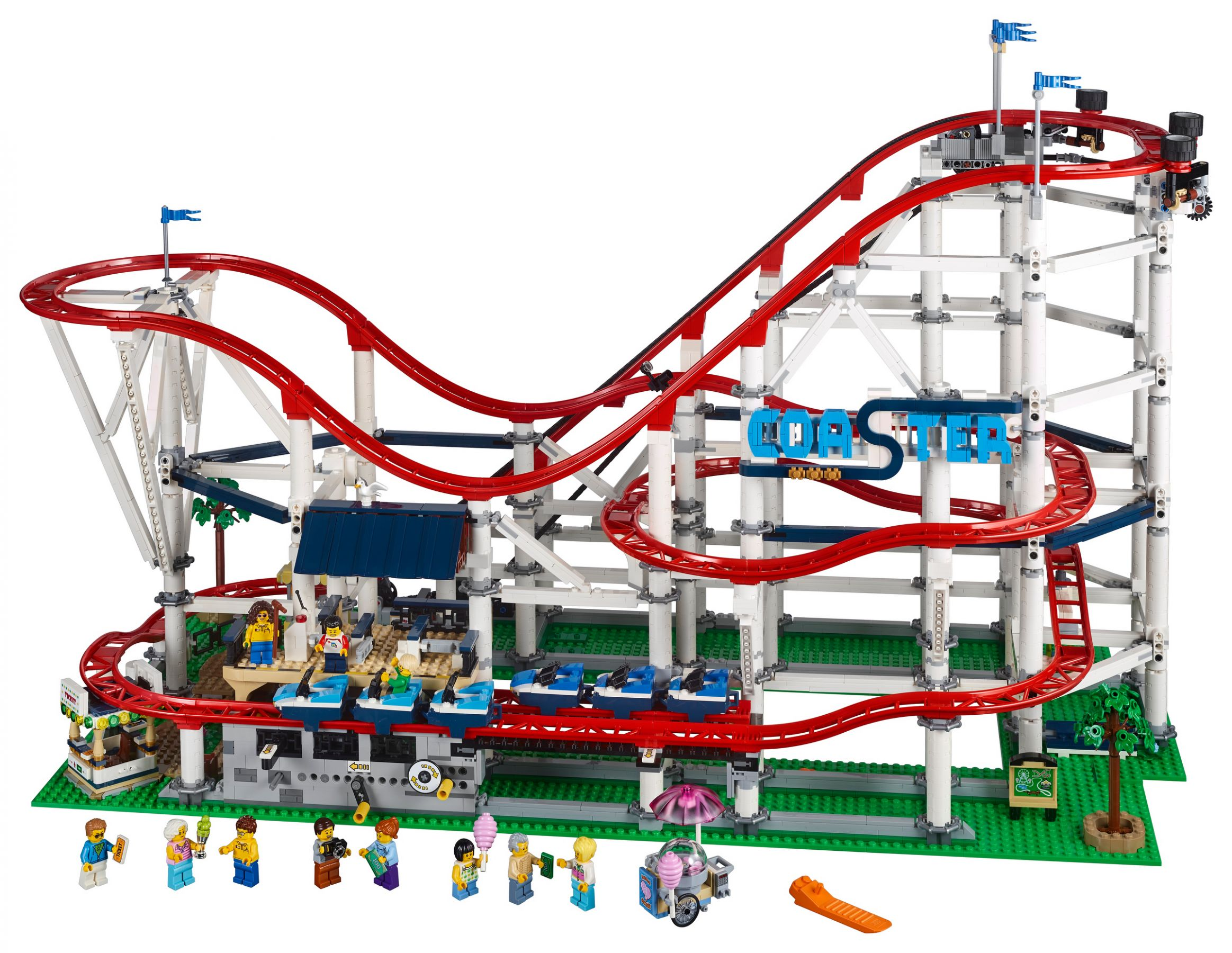 LEGO Advanced Models 10261 Achterbahn