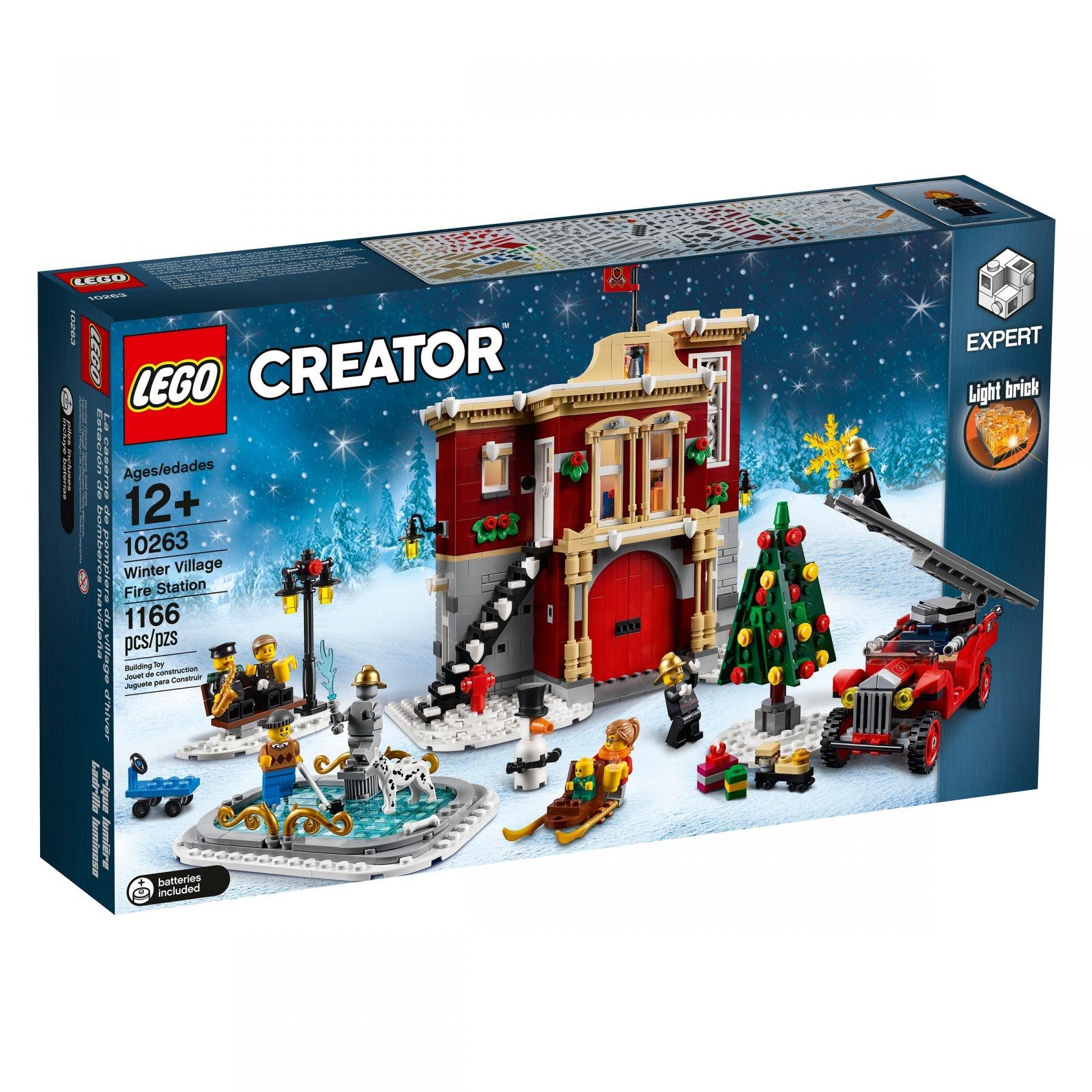 Lego Advanced Models 10263 Winterliche Feuerwehrstation Mit Bildern