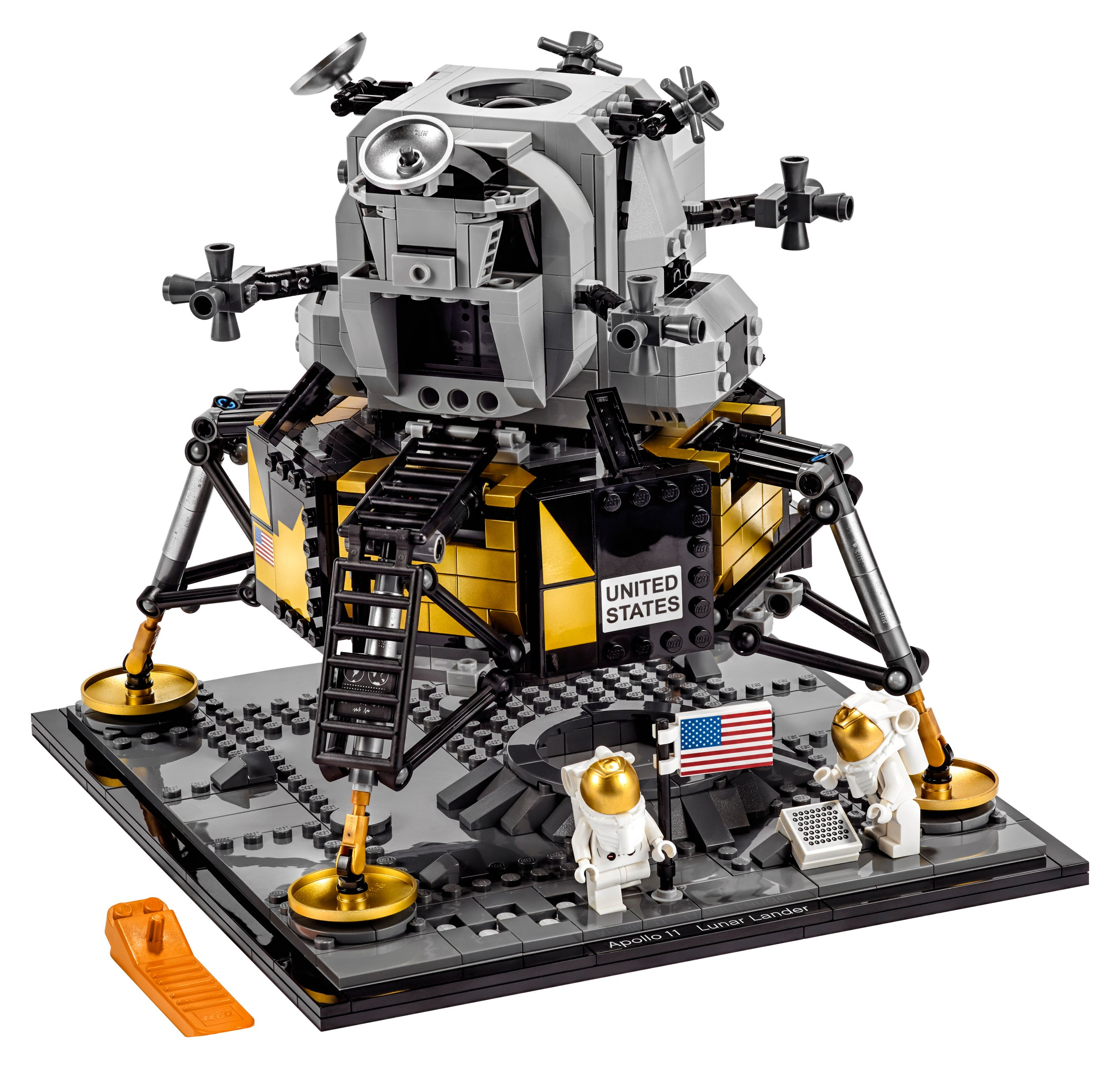 LEGO Advanced Models 10266 NASA Apollo 11 Mondlandefähre