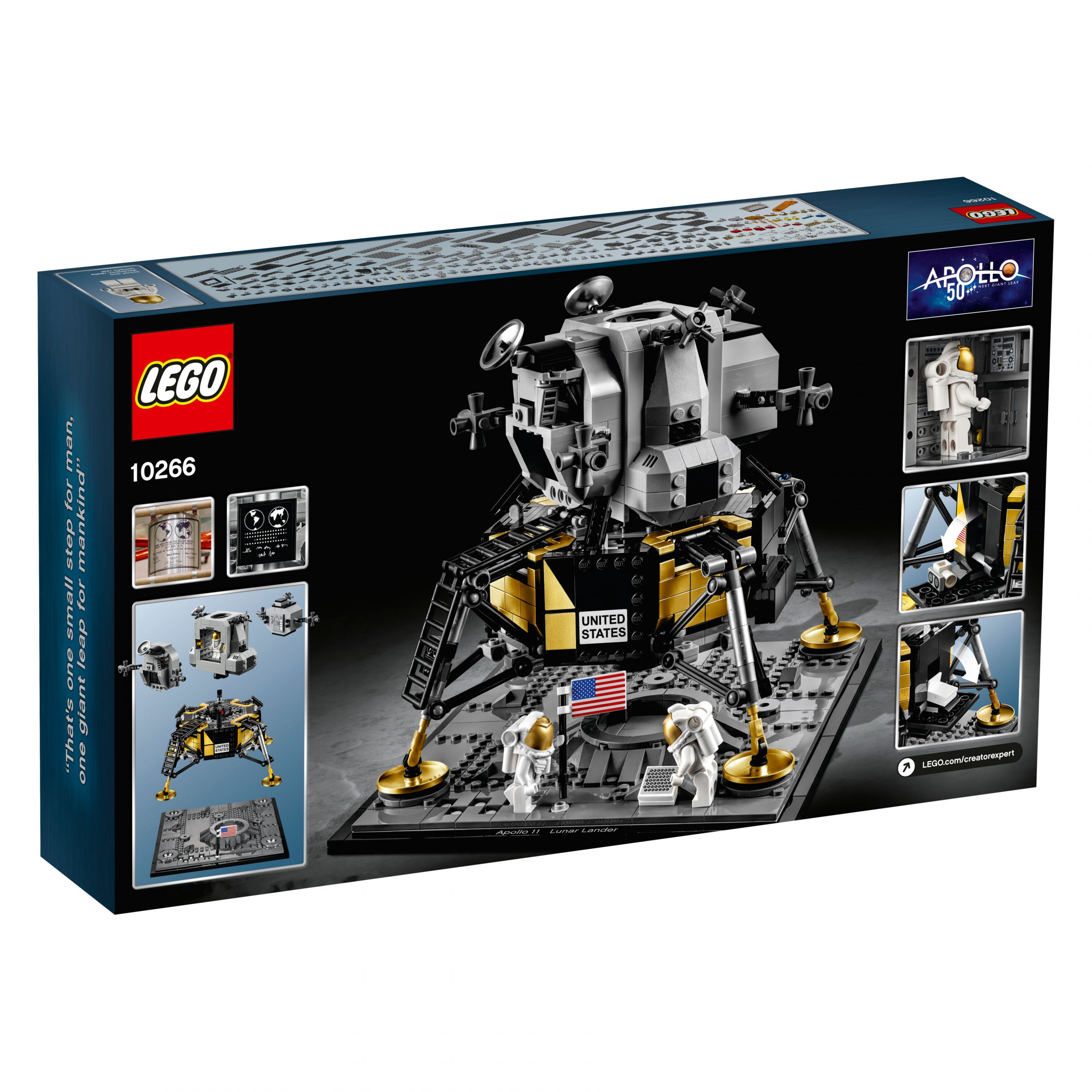 LEGO Advanced Models 10266 NASA Apollo 11 Mondlandefähre LEGO_10266_alt5.jpg