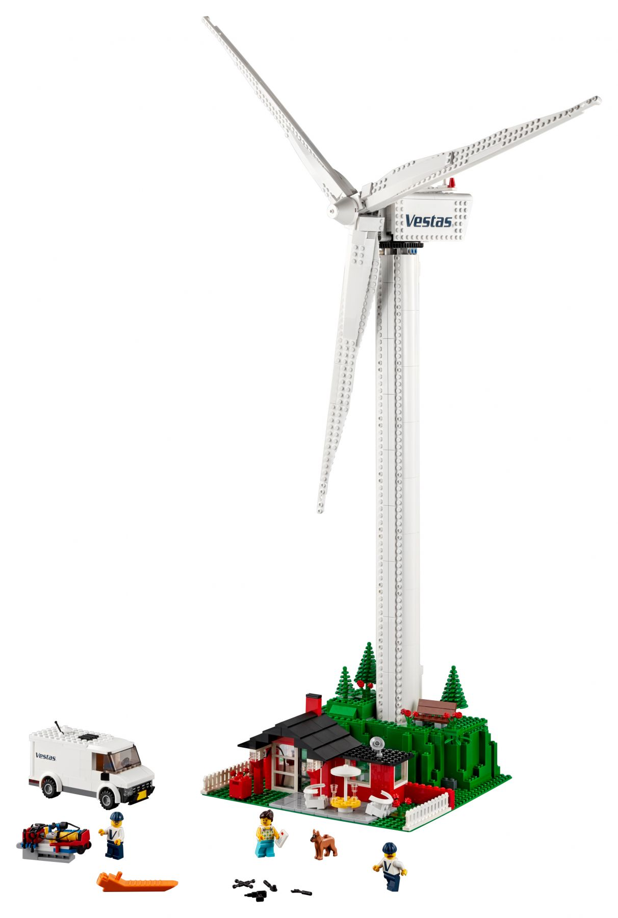 LEGO Advanced Models 10268 Vestas® Windkraftanlage