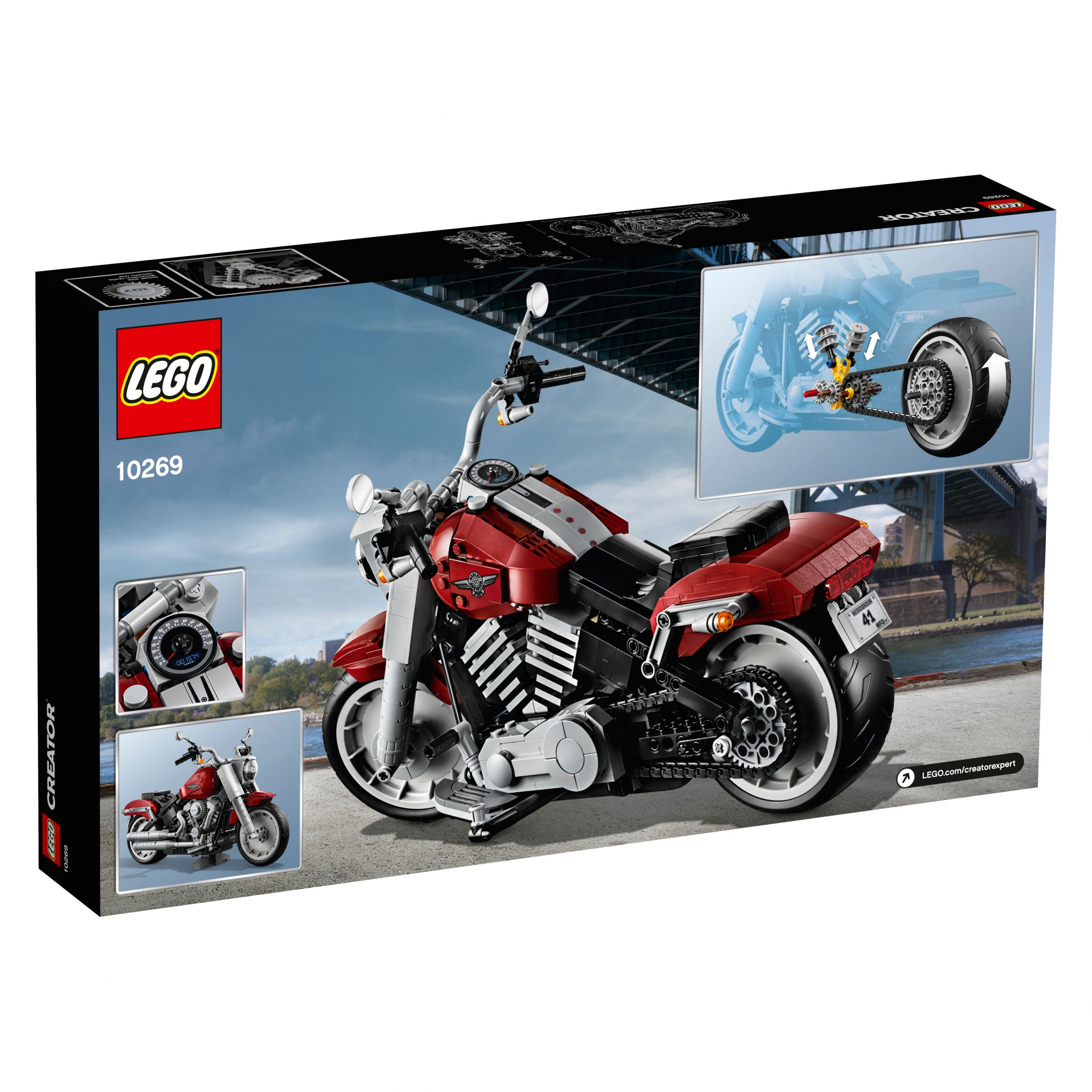 LEGO Advanced Models 10269 Harley-Davidson® Fat Boy® LEGO_10269_alt6.jpg