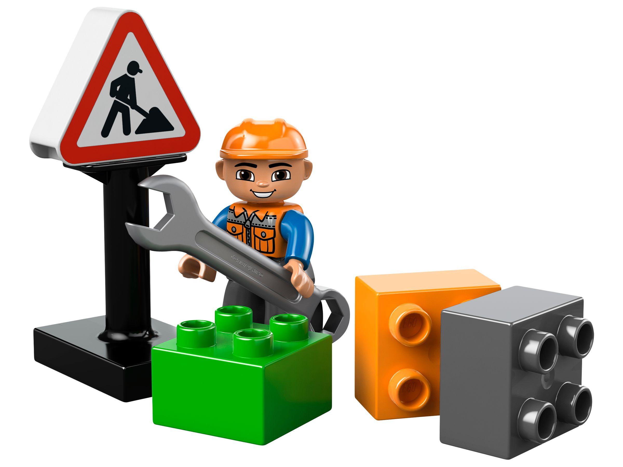 Lego® duplo® #10520 großer frontlader mit bildern lifesteyl